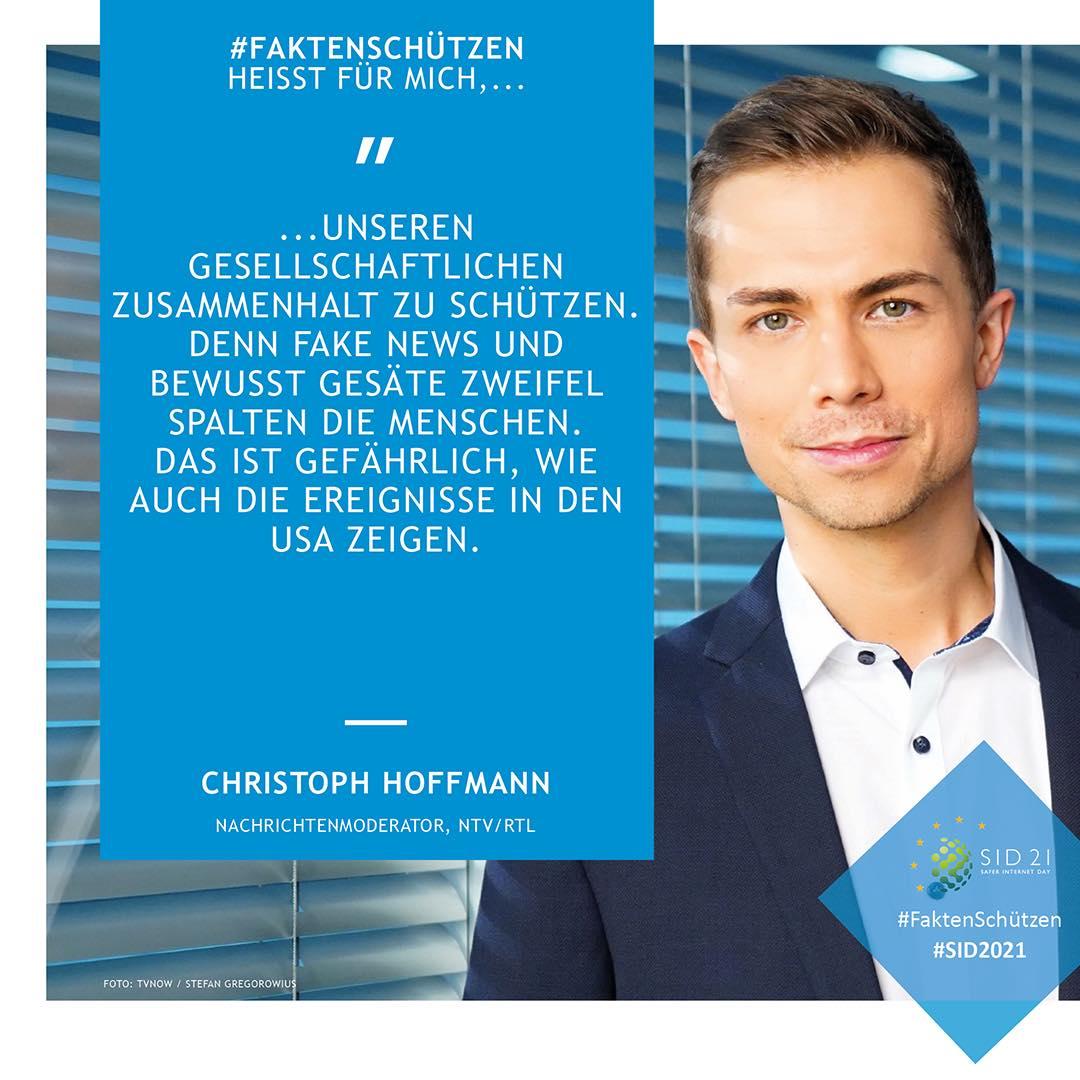 Gegen Falschnachrichten: Christoph ist ein #Faktenschützer