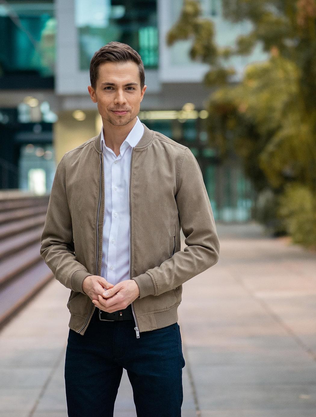 Ausführliche Vita zu Journalist, Moderator und Sprecher Christoph Jens Hoffmann